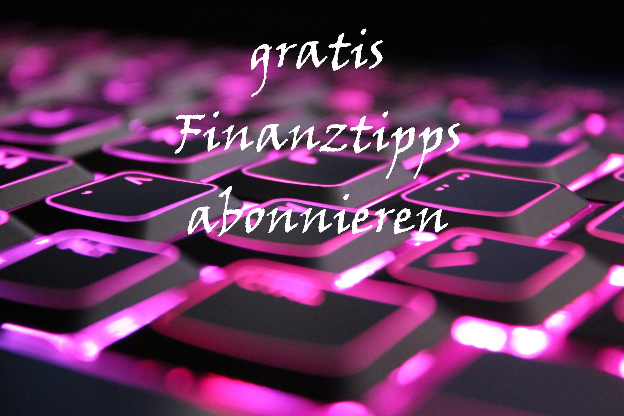Finanztipps Newsletter
